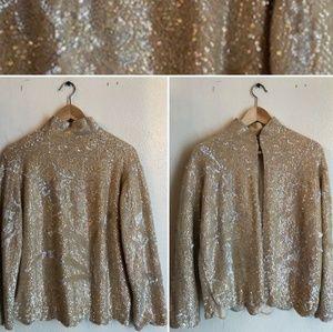 Vintage sequins jacket